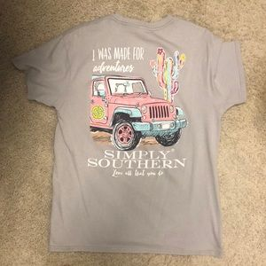 Simply Southern gray T-shirt